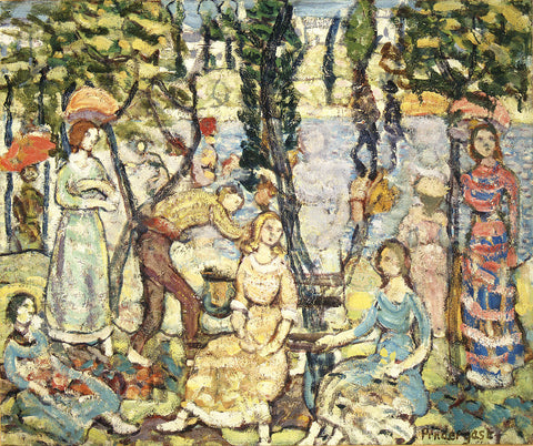 Maurice Brazil Prendergast - Group of Figures