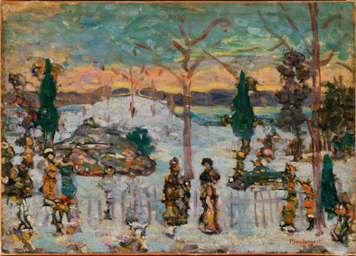 Maurice Brazil Prendergast - Snow in April