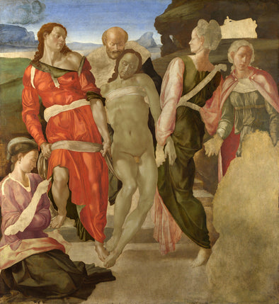 Michelangelo - Entombment