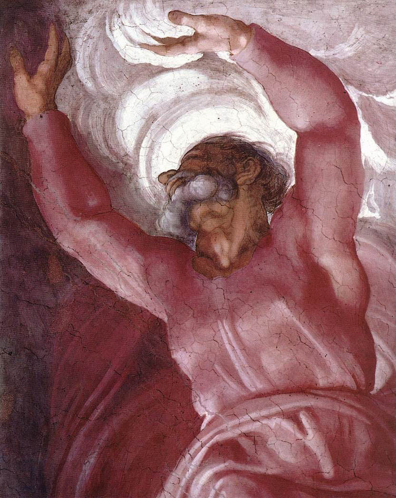 Michelangelo - Separation of Light from Darkness