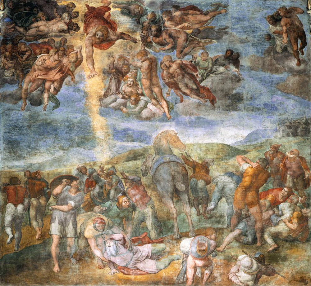 Michelangelo - The Conversion of Saul