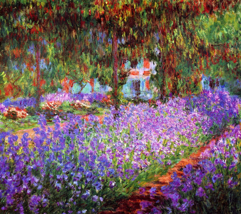 Monet - The Artists Garden at Giverny