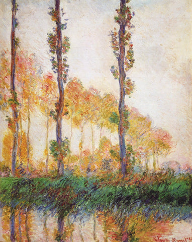 Monet - Poplars Autumn II