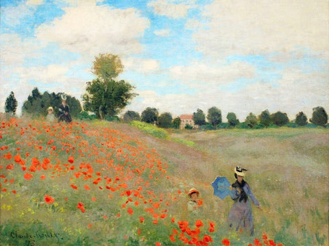 Monet - Poppies near Argenteuil