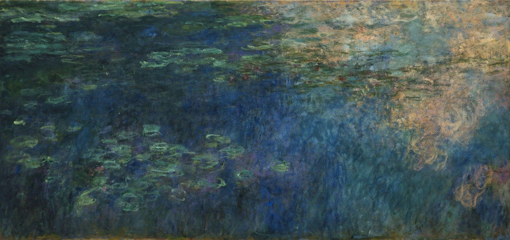 Monet - Reflections of Clouds on the Water Lily Pond