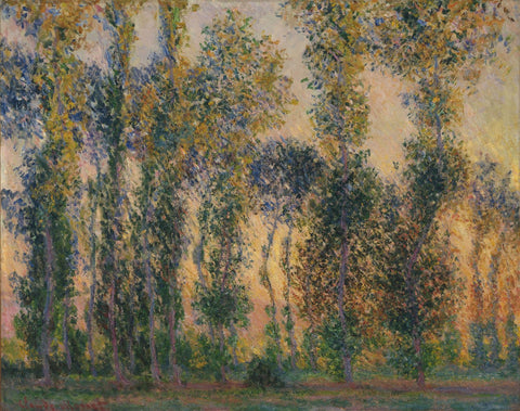 Monet - Poplars at Giverny Sunrise