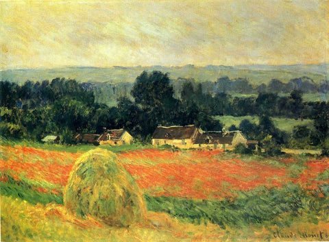 Monet - Haystack at Giverny