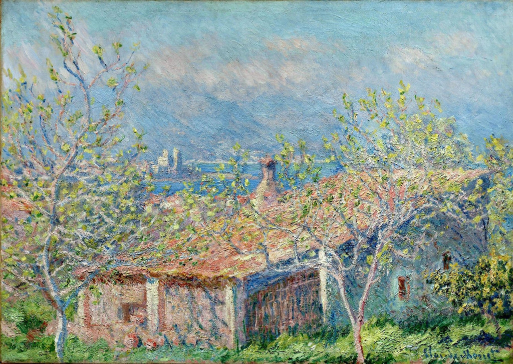 Monet - Gardeners House at Antibes