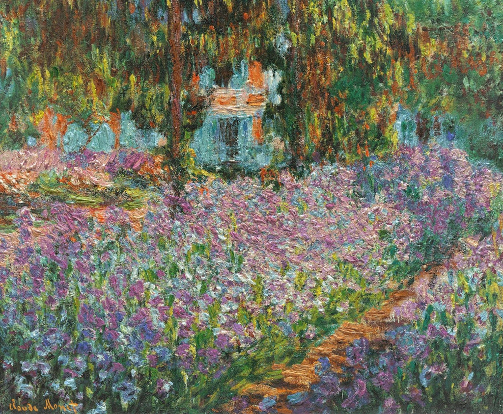 Monet - Irises In Monets Garden