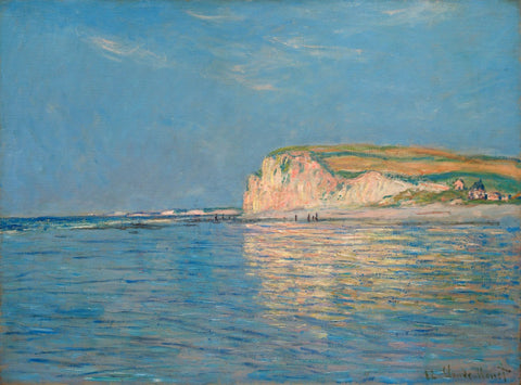 Monet - Low Tide At Pourville