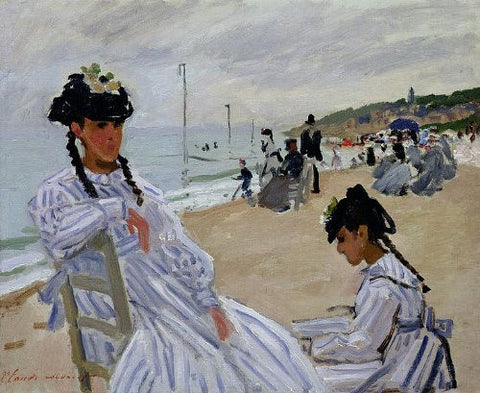 Monet - Paris Marmottan Strand Trouville