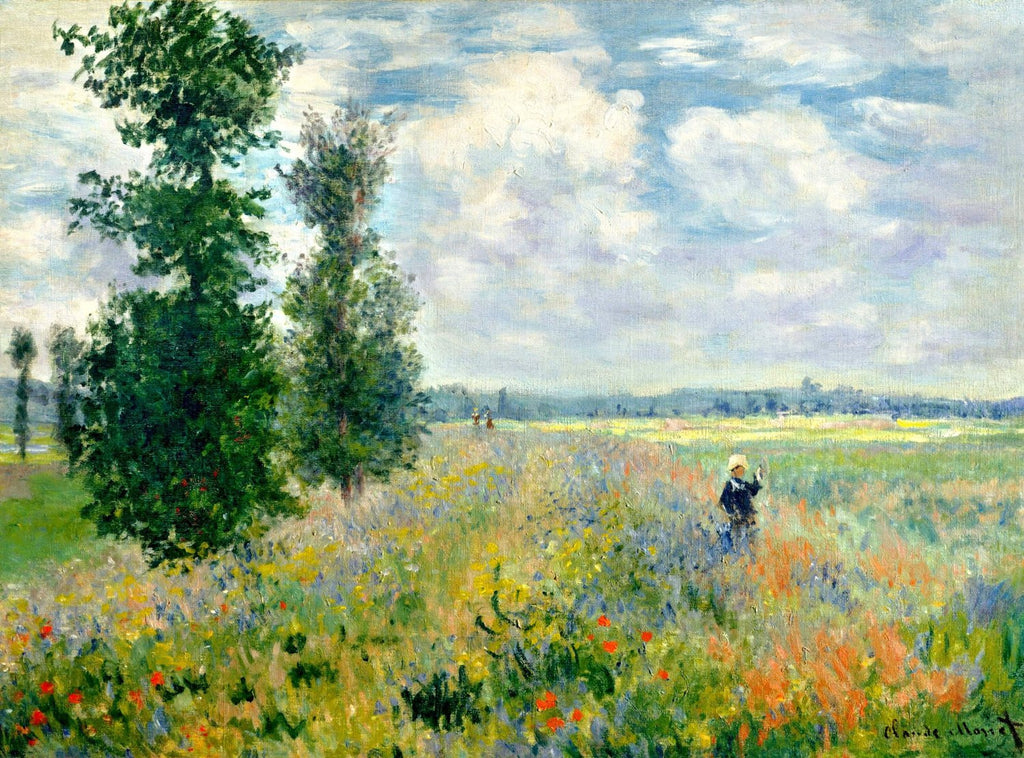 Monet - Poppy field Argenteuil