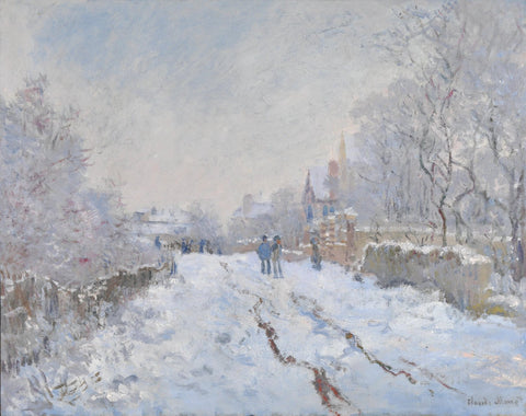 Monet - Snow at Argenteuil