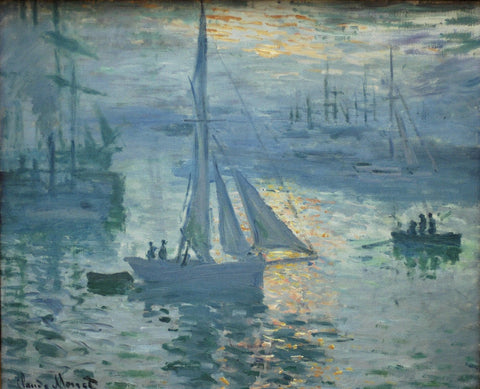Monet - Sunrise
