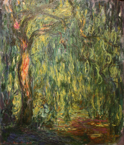 Monet - Weeping Willow (1918)