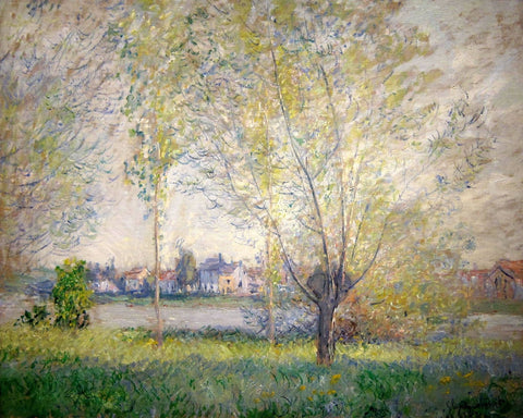Monet - Willows of Vetheuil
