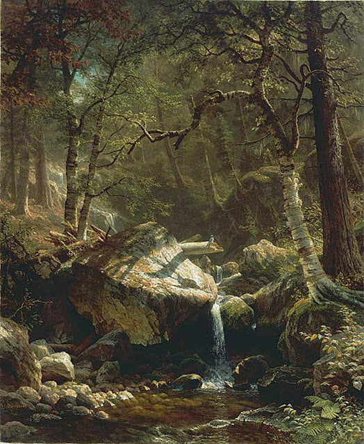 Albert Bierstadt - Mountain Brook