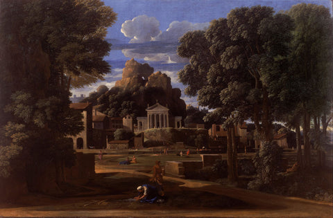 Nicolas Poussin - Landscape with the Ashes of Phocion