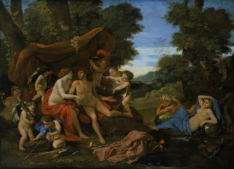 Nicolas Poussin - Mars and Venus