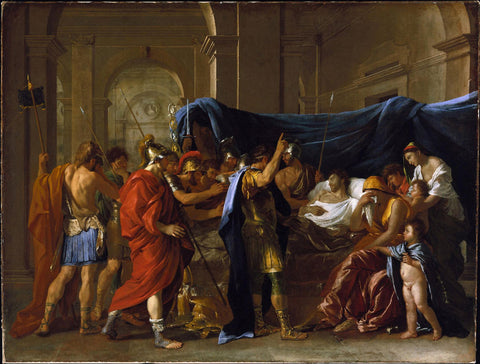Nicolas Poussin - The Death of Germanicus