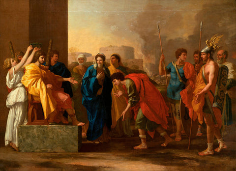Nicolas Poussin - The Continence of Scipio