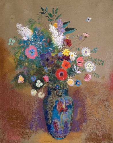 Odilon Redon - Bouquet of Flowers