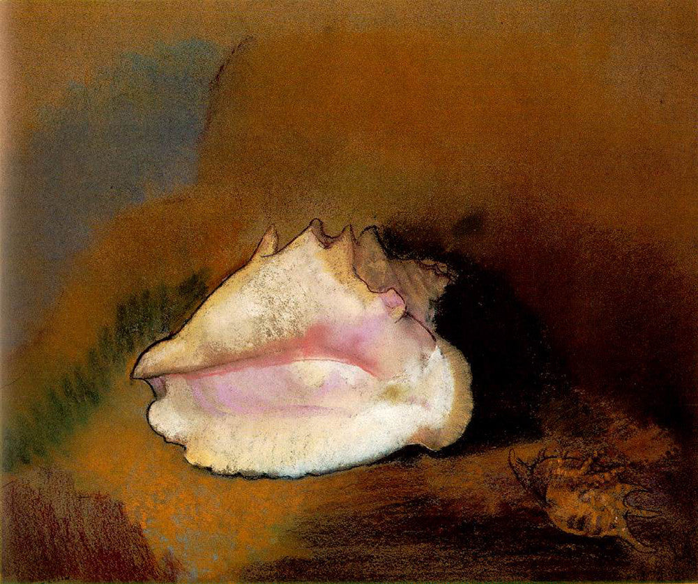 Odilon Redon - Coquille (Musée d'Orsay)