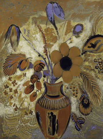 Odilon Redon - Etruscan Vase with Flowers