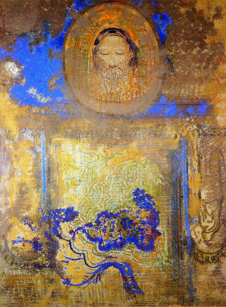 Odilon Redon - Evocation