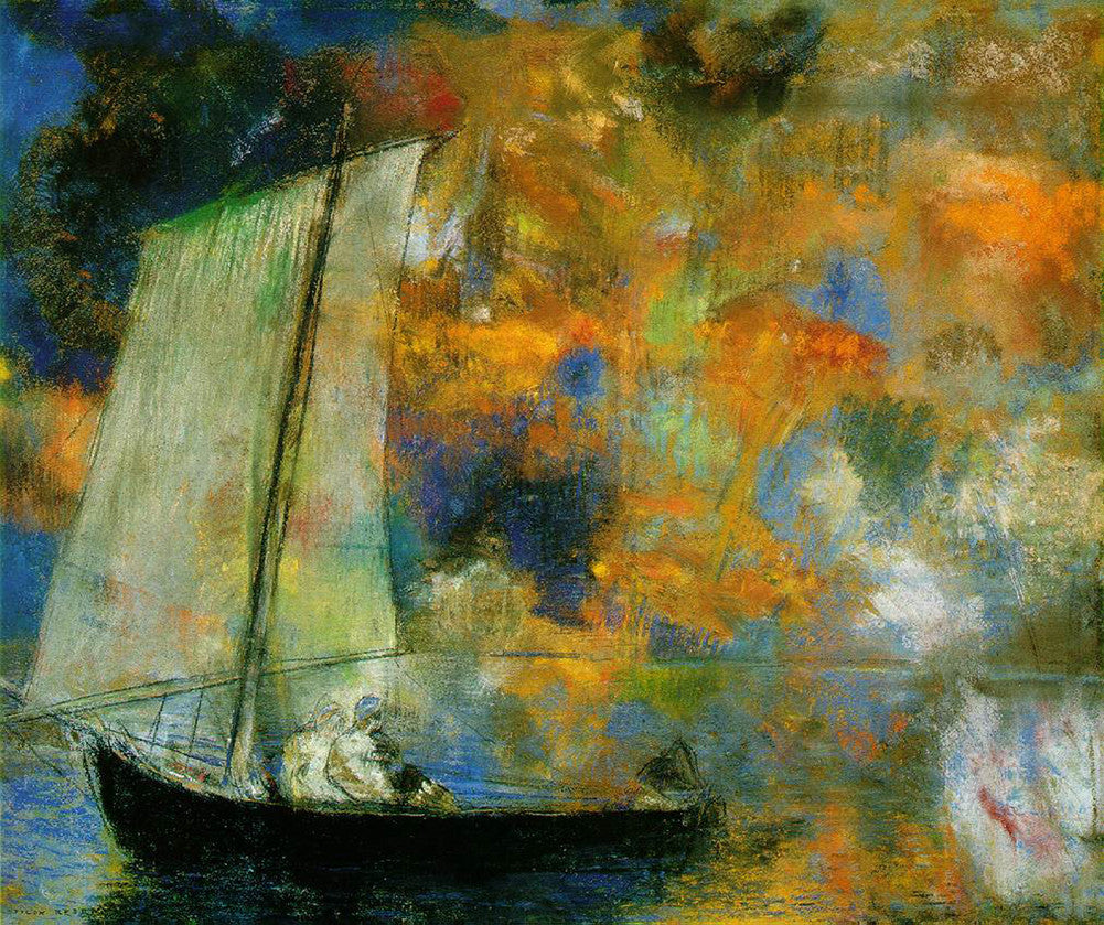 Odilon Redon - Flower Clouds