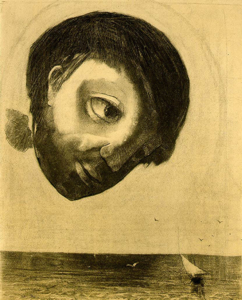 Odilon Redon - Guardian Spirit of the Waters