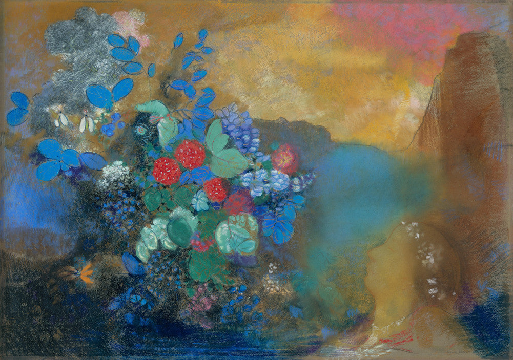 Odilon Redon - Ophelia Among the Flowers