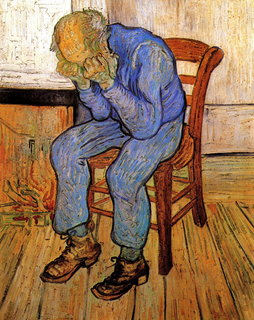 Vincent van Gogh - Old Man in Sorrow on the Threshold of Eternity