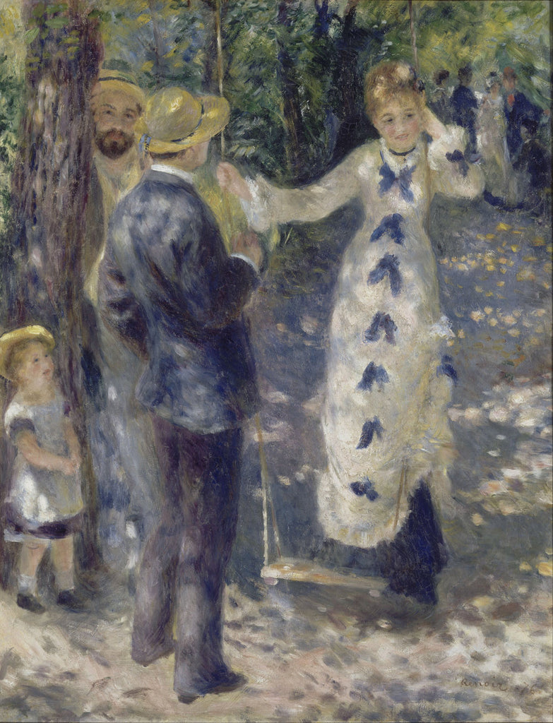 Pierre-Auguste Renoir - The Swing (La Balançoire)