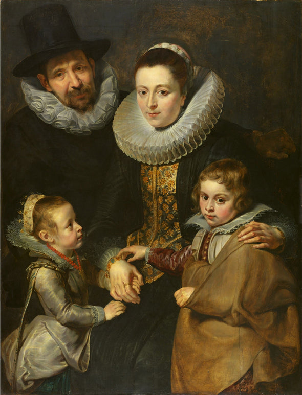 Peter Paul Rubens - Family of Jan Brueghel the Elder