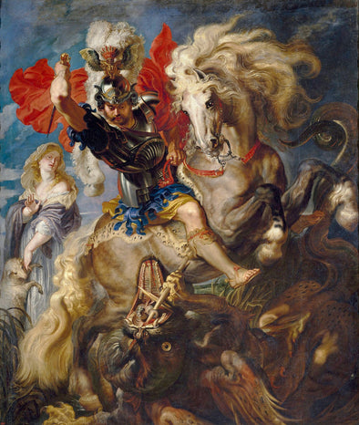 Peter Paul Rubens - Saint George and the Dragon