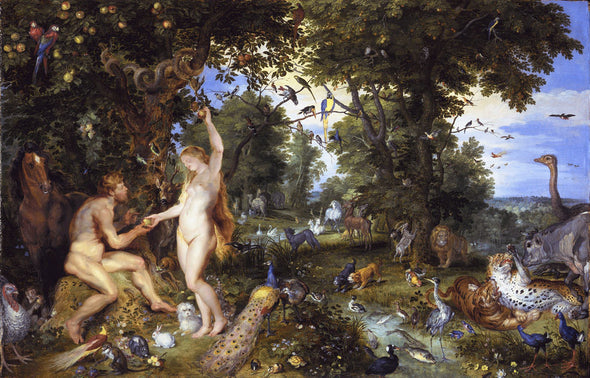 Peter Paul Rubens - The Garden of Eden with the fall of man
