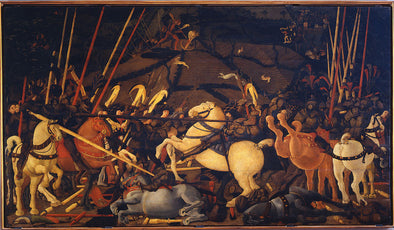 Paolo Uccello - Battle of San Romano