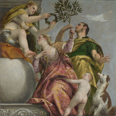 Paolo Veronese - Allegory of Love, IV Happy Union