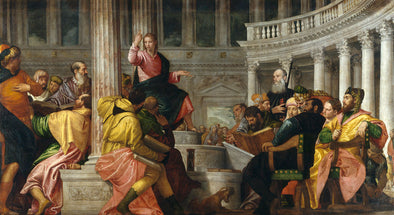 Paolo Veronese - Jesus Among the Doctors