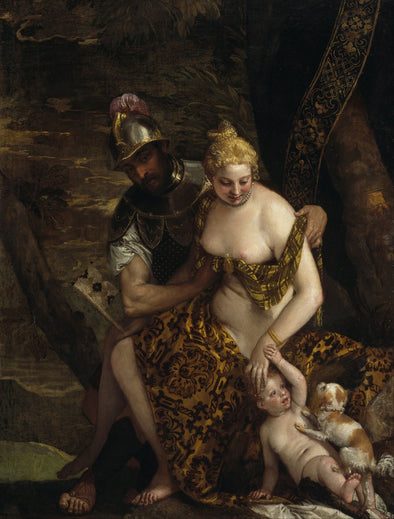 Paolo Veronese - Mars, Venus and Cupid