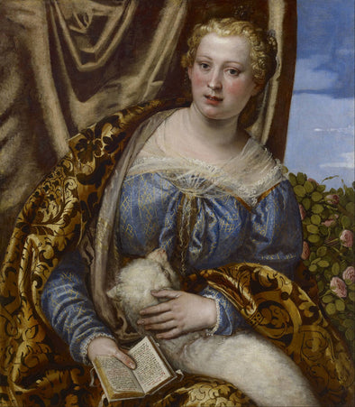Paolo Veronese - Portrait of a Lady as Saint Agnes