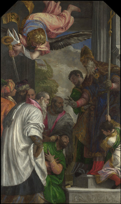 Paolo Veronese - The Consecration of Saint Nicholas