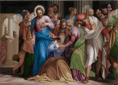 Paolo Veronese - The Conversion of Mary Magdalene