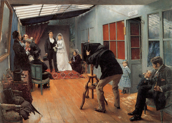 Pascal Dagnan-Bouveret - Wedding Party at the Photographer's Studio