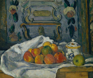 Paul Cézanne - Dish of Apples