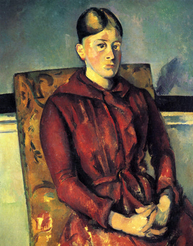Paul Cézanne - Madame Cézanne in a Yellow Chair
