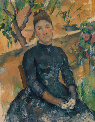 Paul Cézanne - Madame Cézanne in the Conservatory