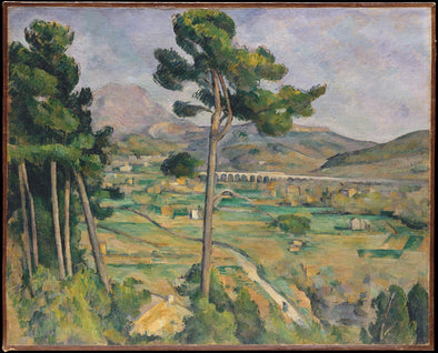 Paul Cézanne - Mont Sainte-Victoire seen from Bellevue