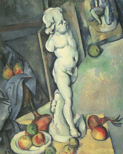 Paul Cézanne - Still Life with Plaster Cast
